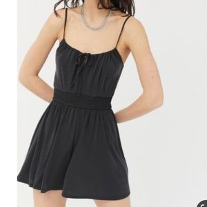 NWT Urban Outfitters Santorini Tie-Front Romper